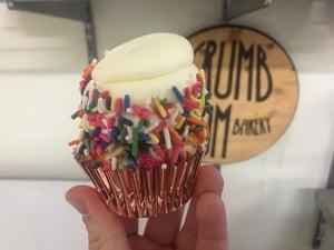 crumb bum cupcake