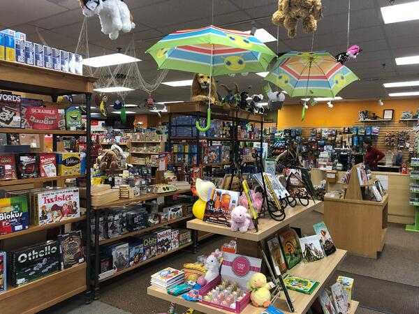 toy and book shop