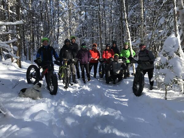 experiential gift giving fat biking
