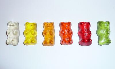 gummy bear flavors