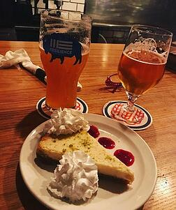 dessert at schilling beer co